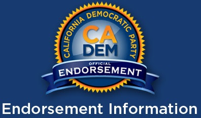 California Democratic Party 2018 Endorsements